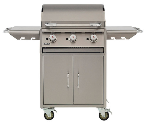 BullBBQ Commercial Griddle Grill Cart