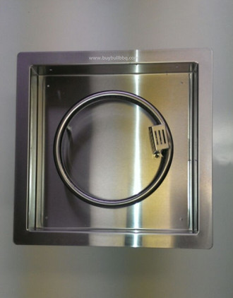 "86538 - Bull Fire Pan with 10"" Ring Burner"
