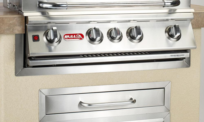 """58726 38"""" Grill Finishing Frame, Stainless Steel"""