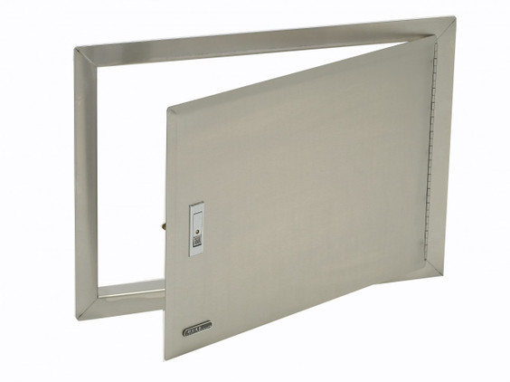 89970 Stainless Steel Access Door with Lock and Frame  sc 1 st  Carddine & 89970 Stainless Steel Access Door with Lock and Frame - Carddine ...
