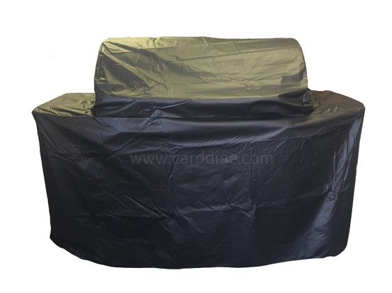 "5371 30"" Black vinyl Premium Cart Cover fits Black Vinyl Premium Cover fits Angus, Bison, Outlaw, and Lonestar Select Bull BBQ Grills"