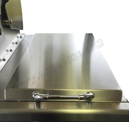 18041 - Sideburner Lid for 7 burner Premium stainless