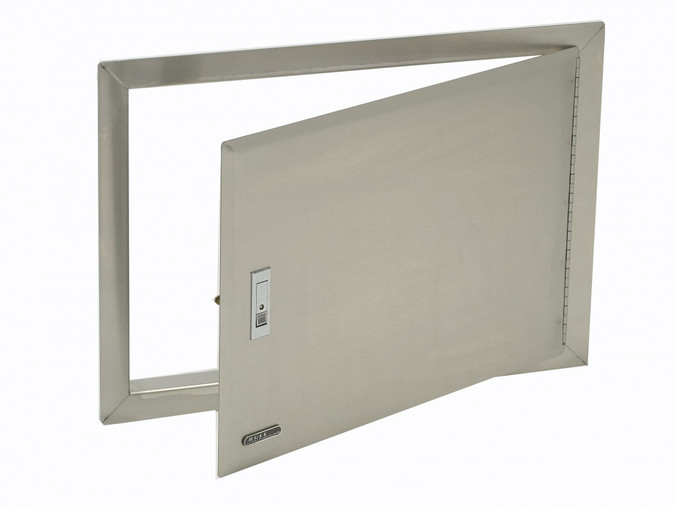 89970 Stainless Steel Access Door with Lock and Frame