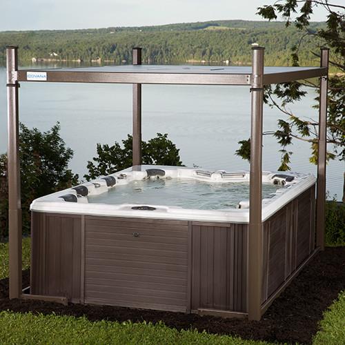 evolution hot tub cover carddine home resort products. Black Bedroom Furniture Sets. Home Design Ideas
