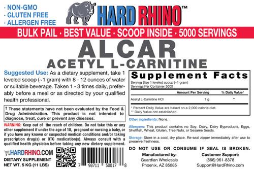 BULK Acetyl L-Carnitine (ALCAR) Powder