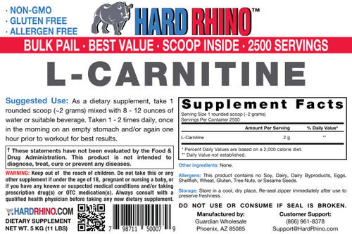 BULK L-Carnitine Powder