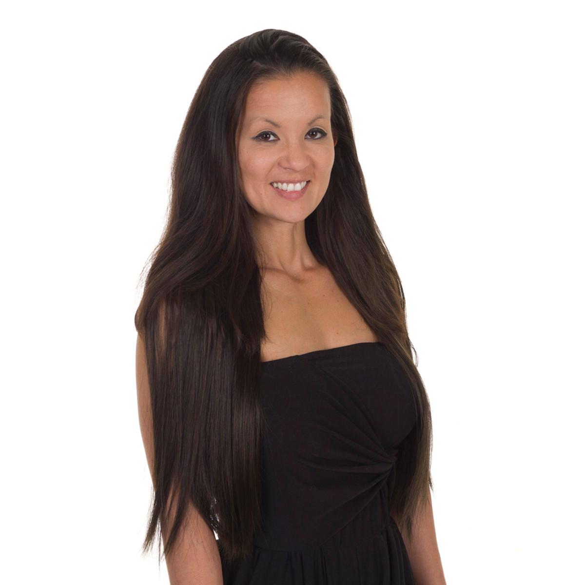 Click Flick Straight 22 Hair Extension Weft 6 Shades