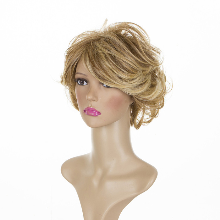 Joan - Whisper Blonde Short Mature Style Volume Wig