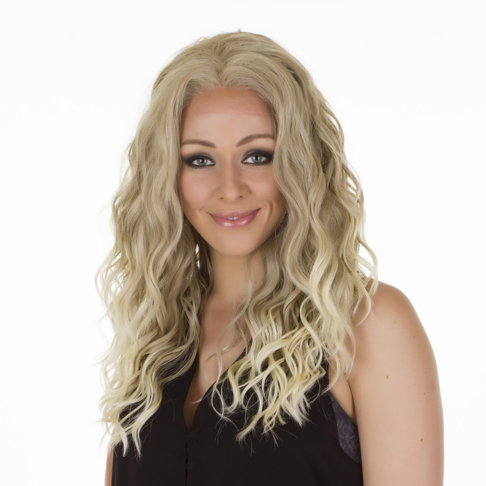 Biki Ombre Ash Light Blonde Lace Front Wig