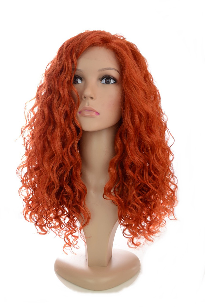 Rebekah Copper Chilli Red Lace Front Wig