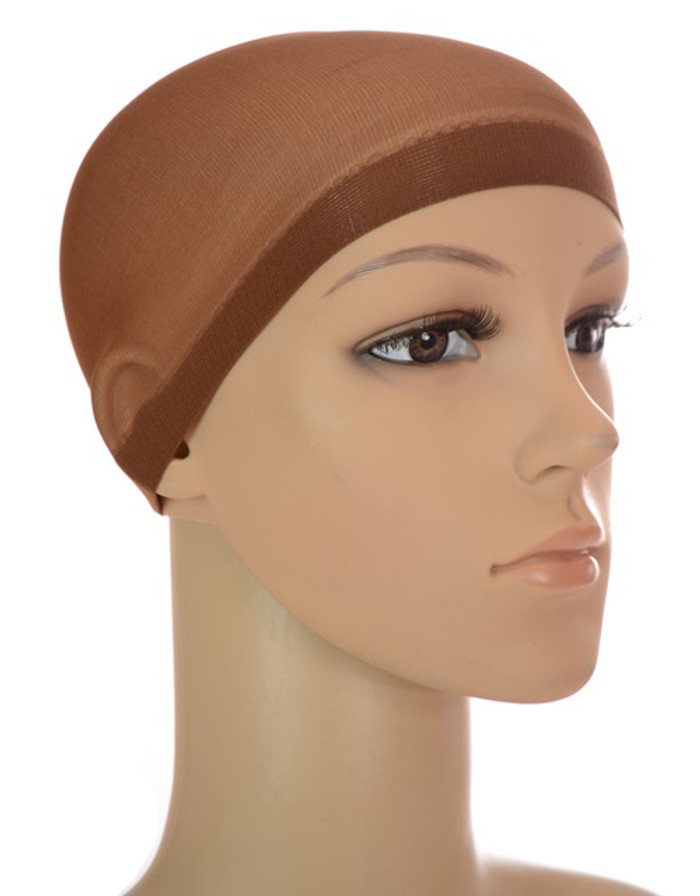 Stocking Wig Cap Brown