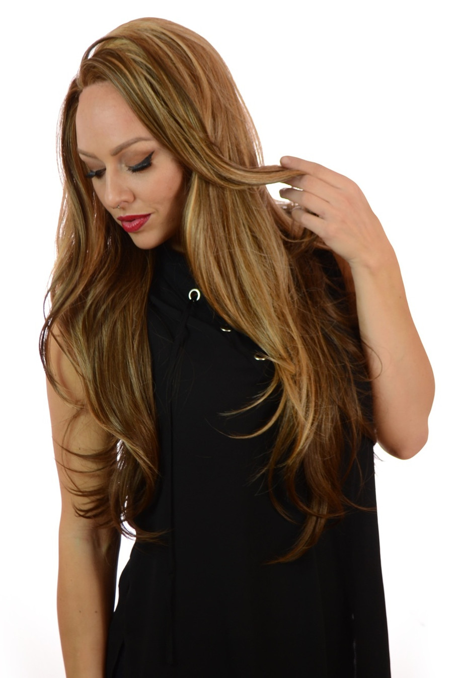 Rumer Miami Blonde Lace wig