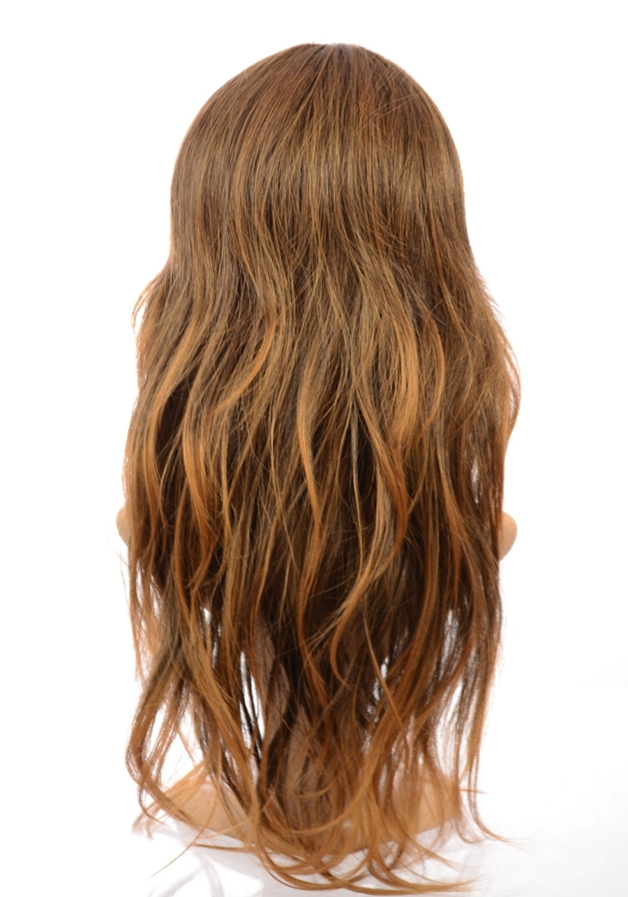 Tiffany Ombre Brown Gold Wig