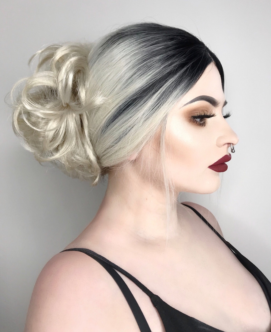 Hair Stream Platinum Blonde