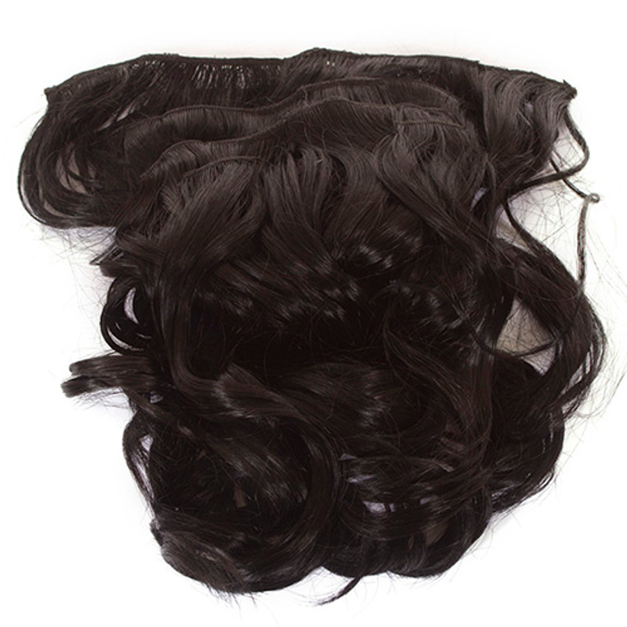 Volu-curl 5 Piece Hair Extensions Page Black