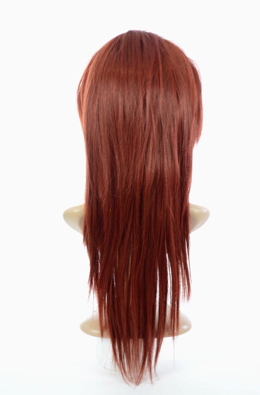 Tihaira Straight Half wig Henna Red