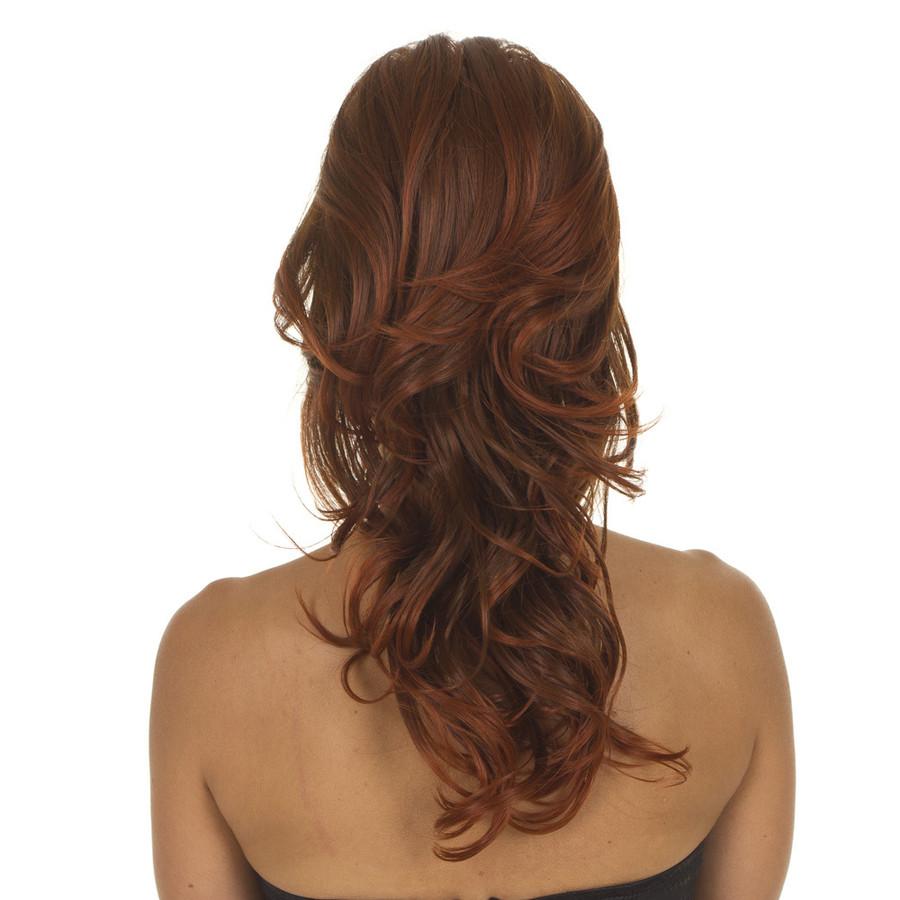 Tihaira Bodywave Ginger Spice Half Wig