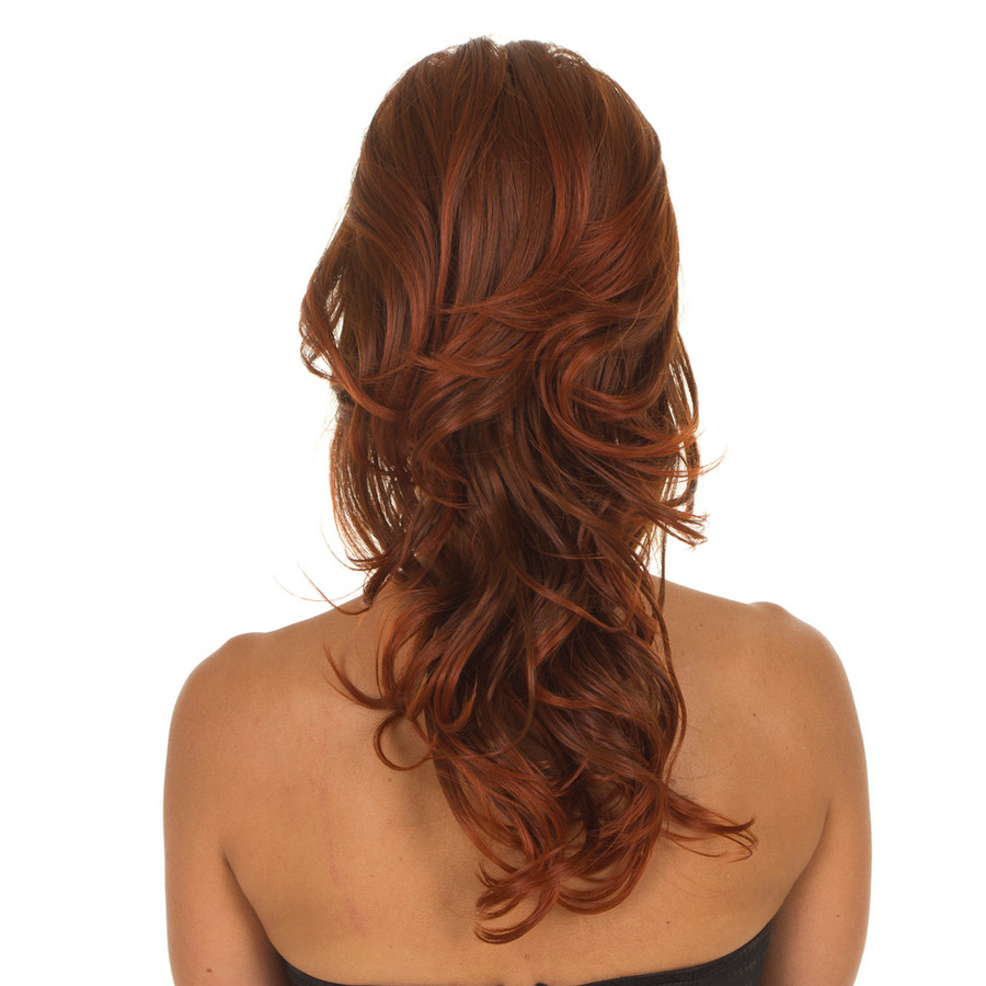 Tihaira Crown Curly Ginger Spice