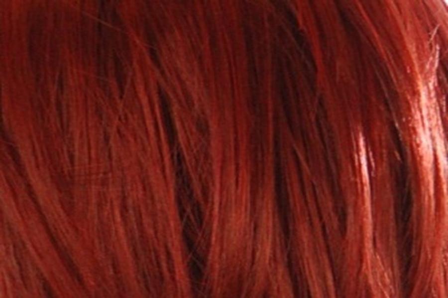 Tihaira Crown Curly Henna Red