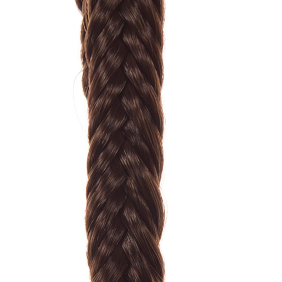 Dark Chocolate  Hair Braid Band