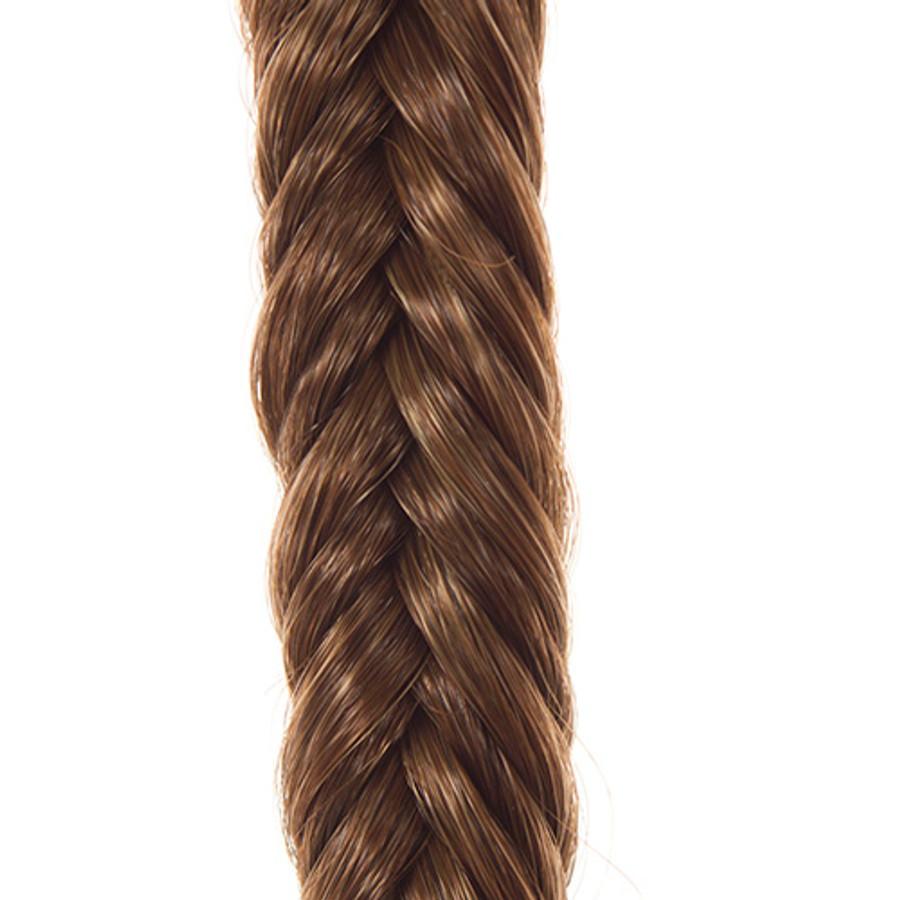 Light Chocolate  Hair Braid Band