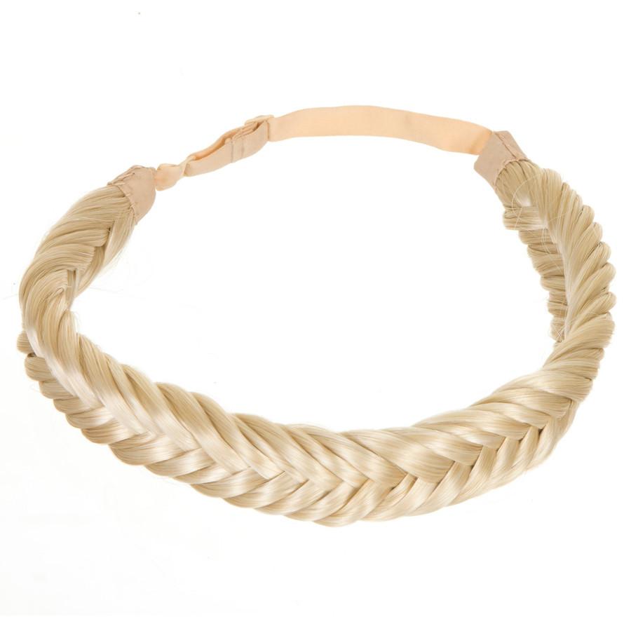 Monroe Blonde  Hair Braid Band