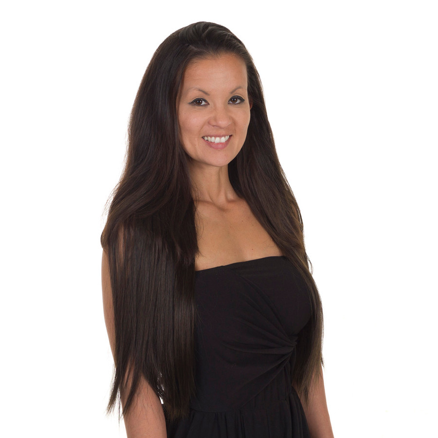 style icon hair extensions reviews click amp 22 quot hair extension weft 6 shades 3603