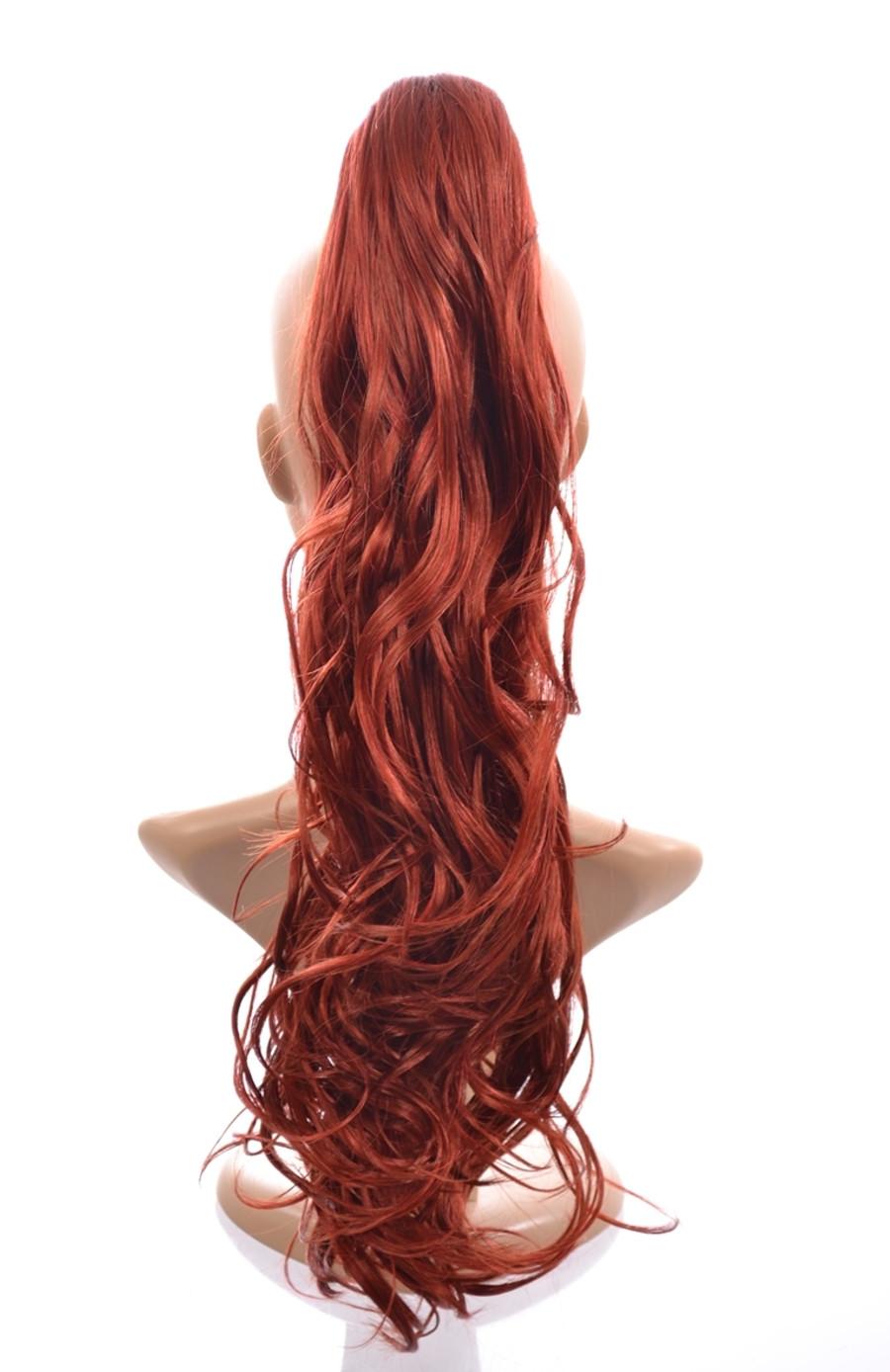 Pony Tress Henna Red