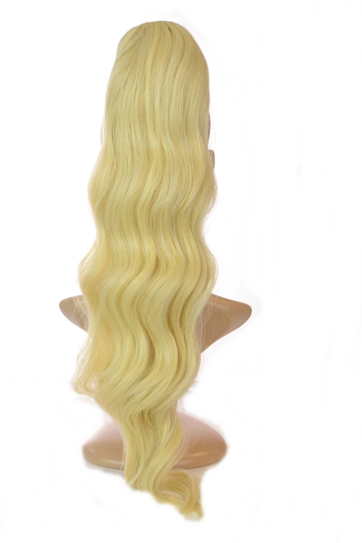 Pony Wave Drawstring Ponytail Monroe Blonde