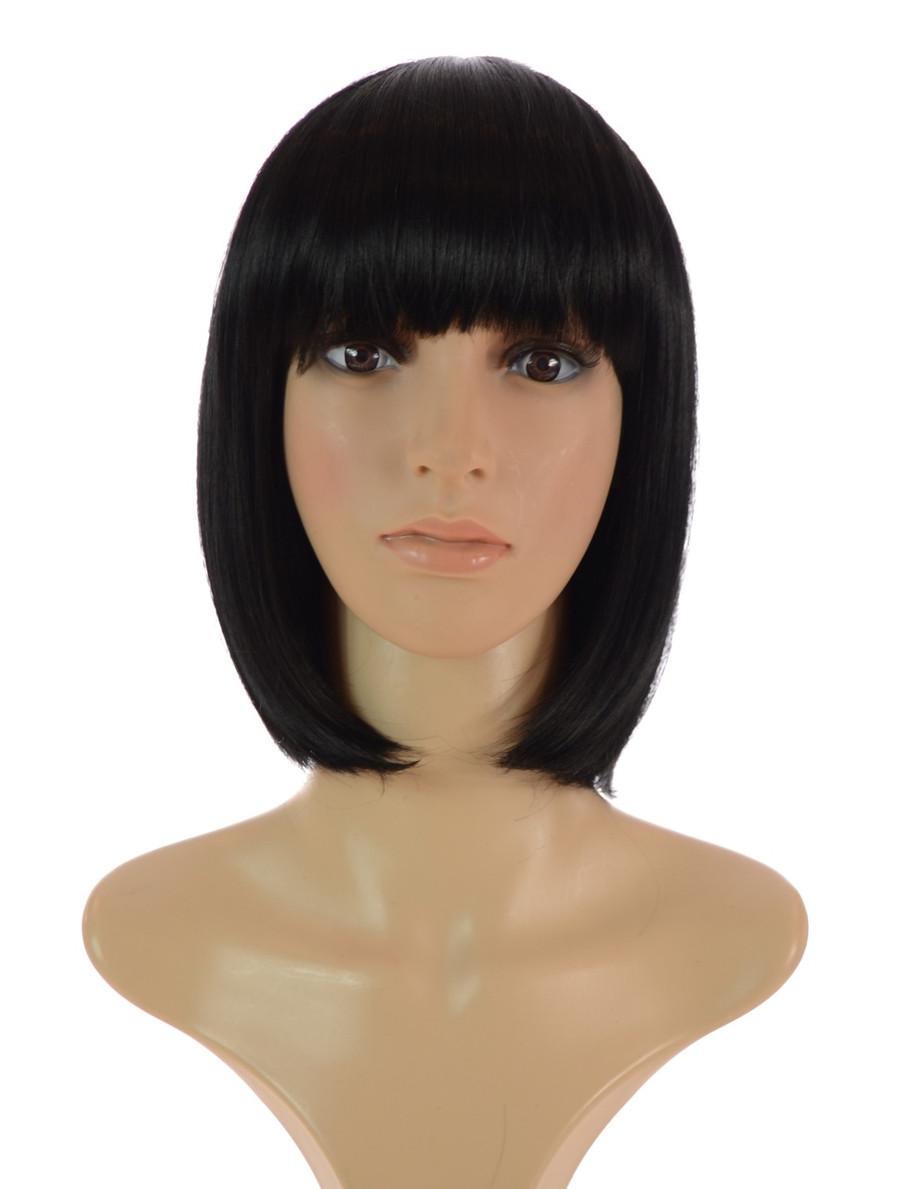 Katy Bob Wig Black wig