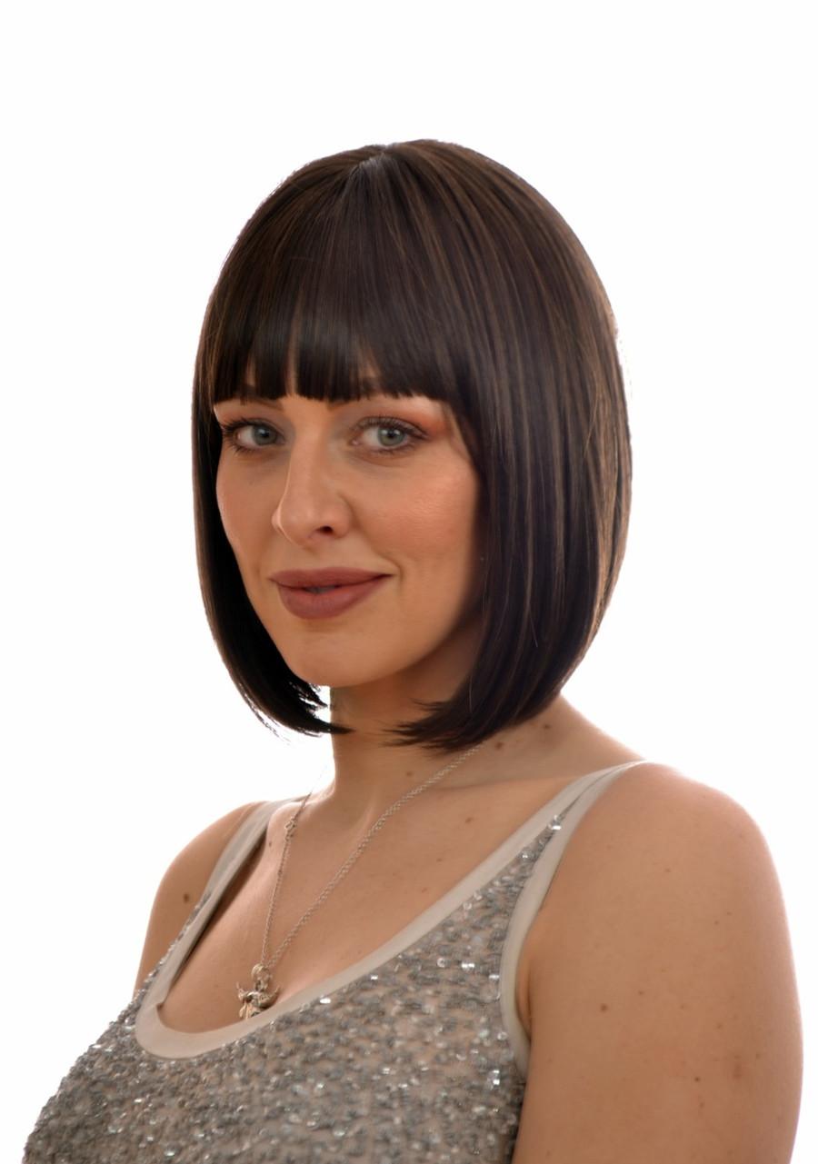 Dark Brown Pulp Fiction Brown Katy Wig
