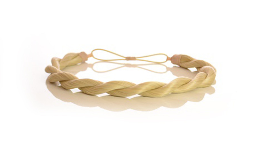 Rope Elasticated Headband Monroe Blonde