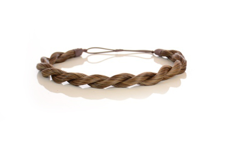 Rope Elasticated Headband Autumn Blonde