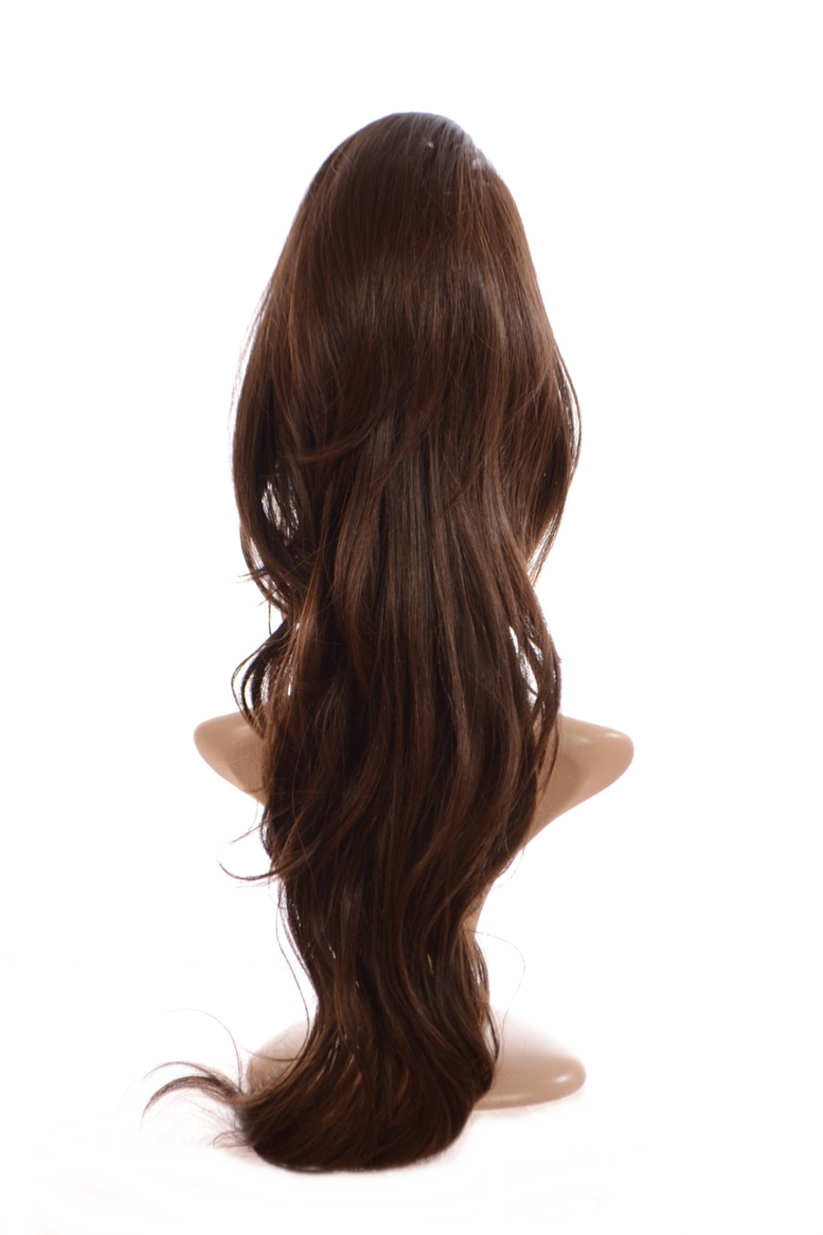 Volume Clip in Hairpiece Warm Hazelnut Brown