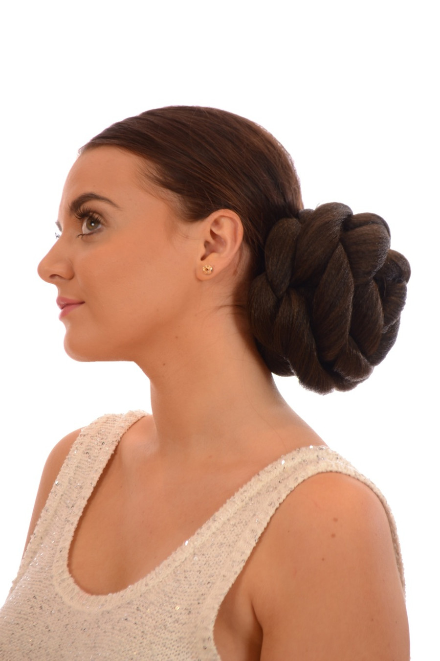Rose Hair Bun - Dark Chocolate