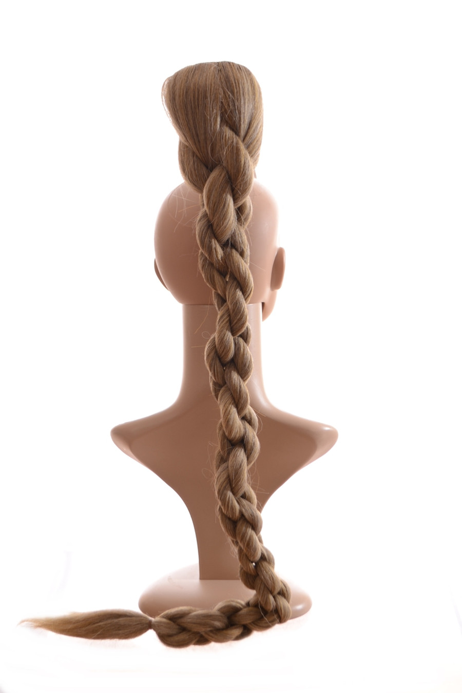 Rope Effect Claw Grip Ponytail XLong Sandy Ash Blonde