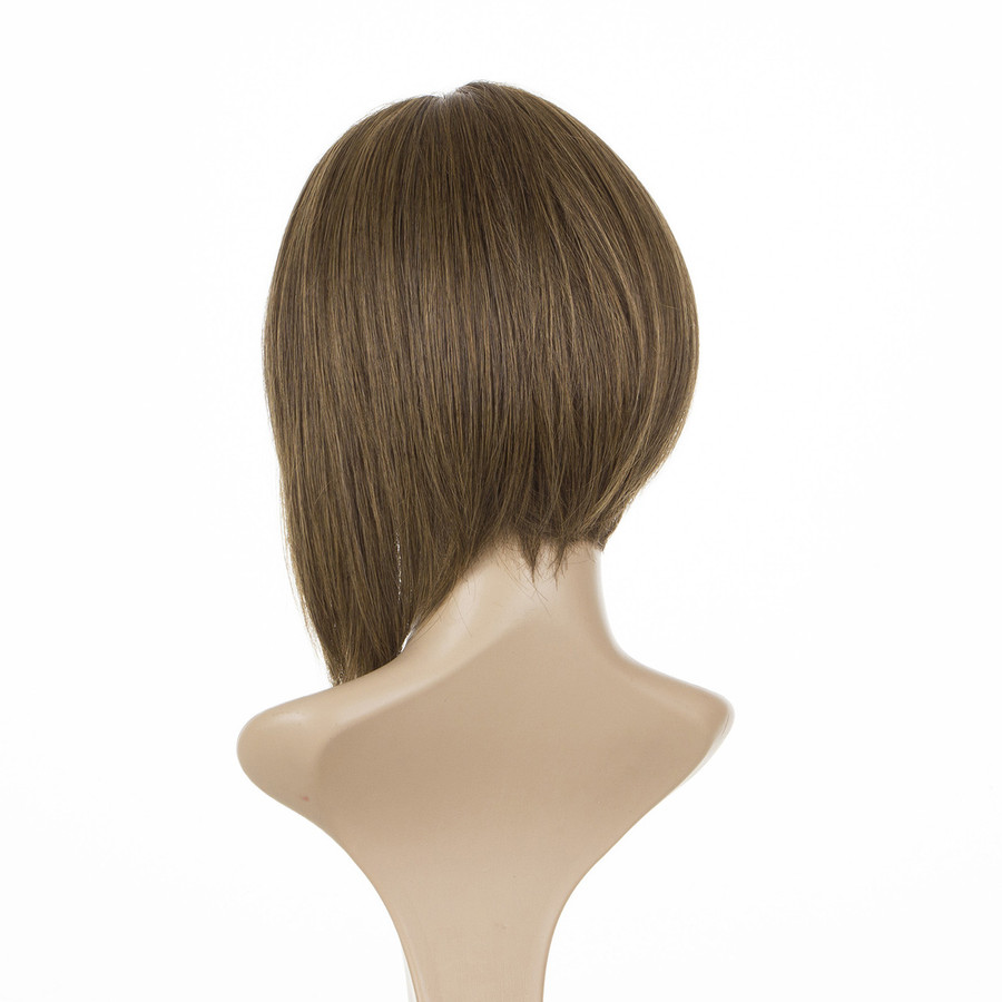 Victoria Dark Shaded Blonde Lace Front Human Hair Blend Wig
