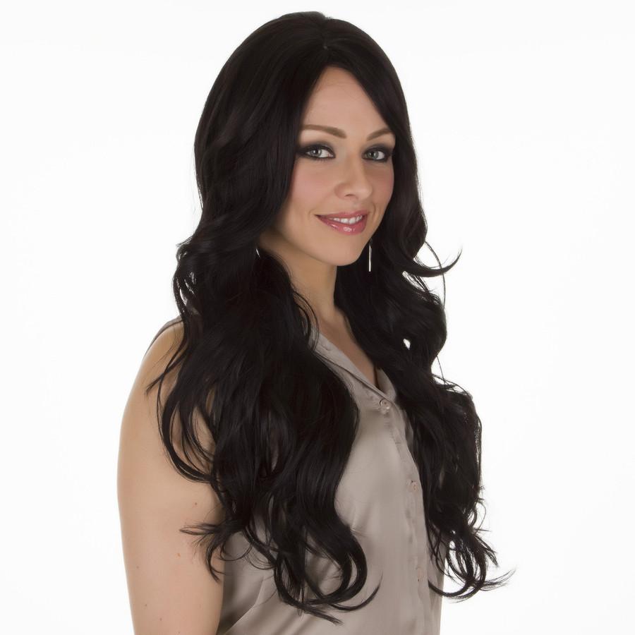 Scherzy Expresso Black Lace Front Wig