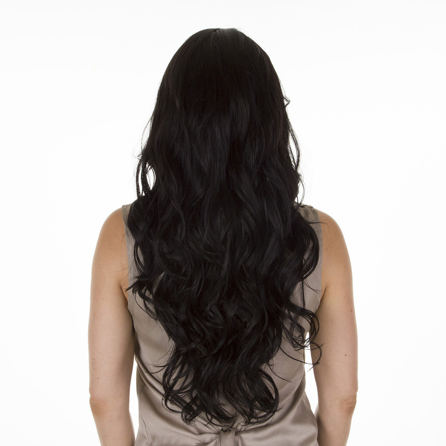 Scherzy Expresso Black Long Curly Wig