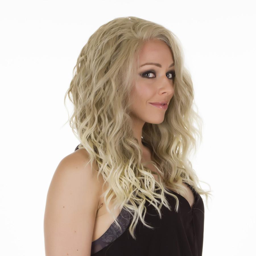 Biki Ombre Ash Blonde Lace Front Wig