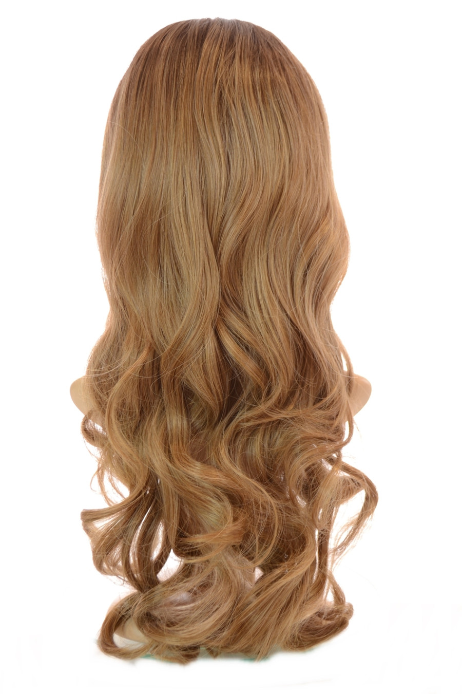 Tihaira Wave Neutral Blonde Ombre Clip In Half Wig