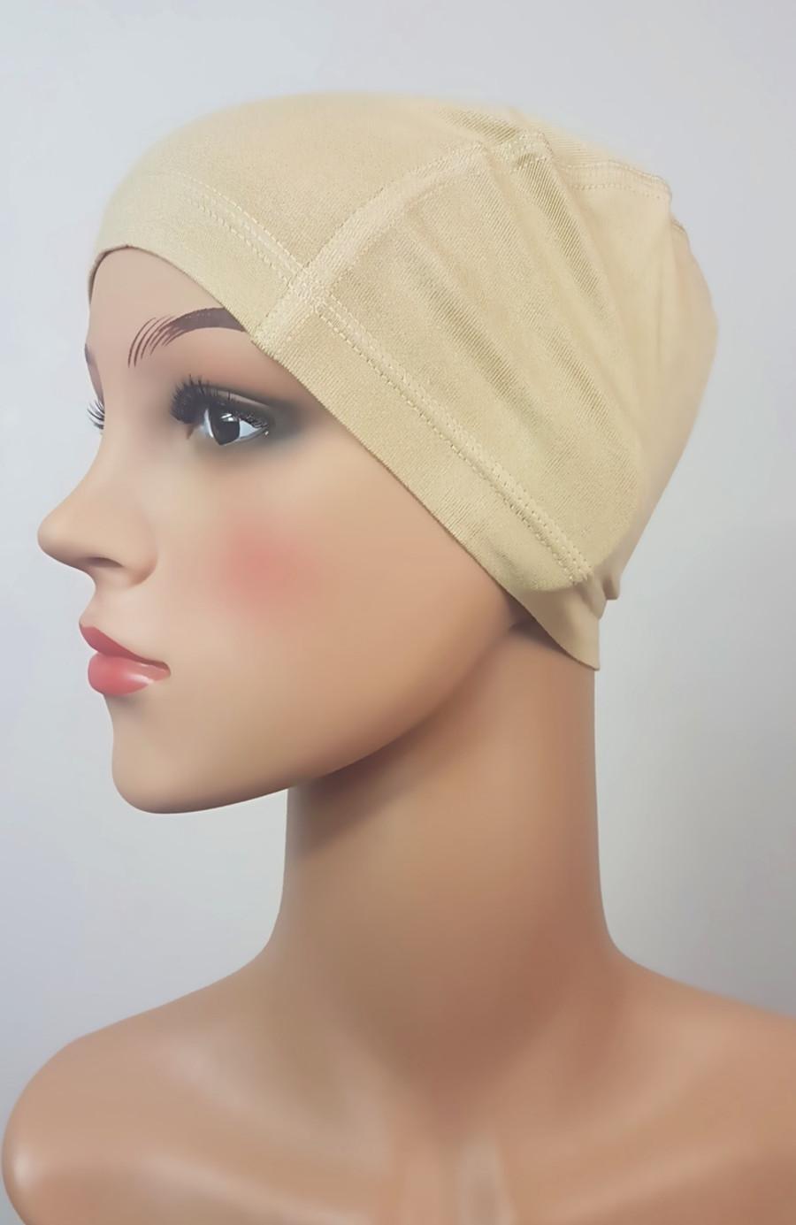 Blonde Blonde Bamboo Soft Wig Cap