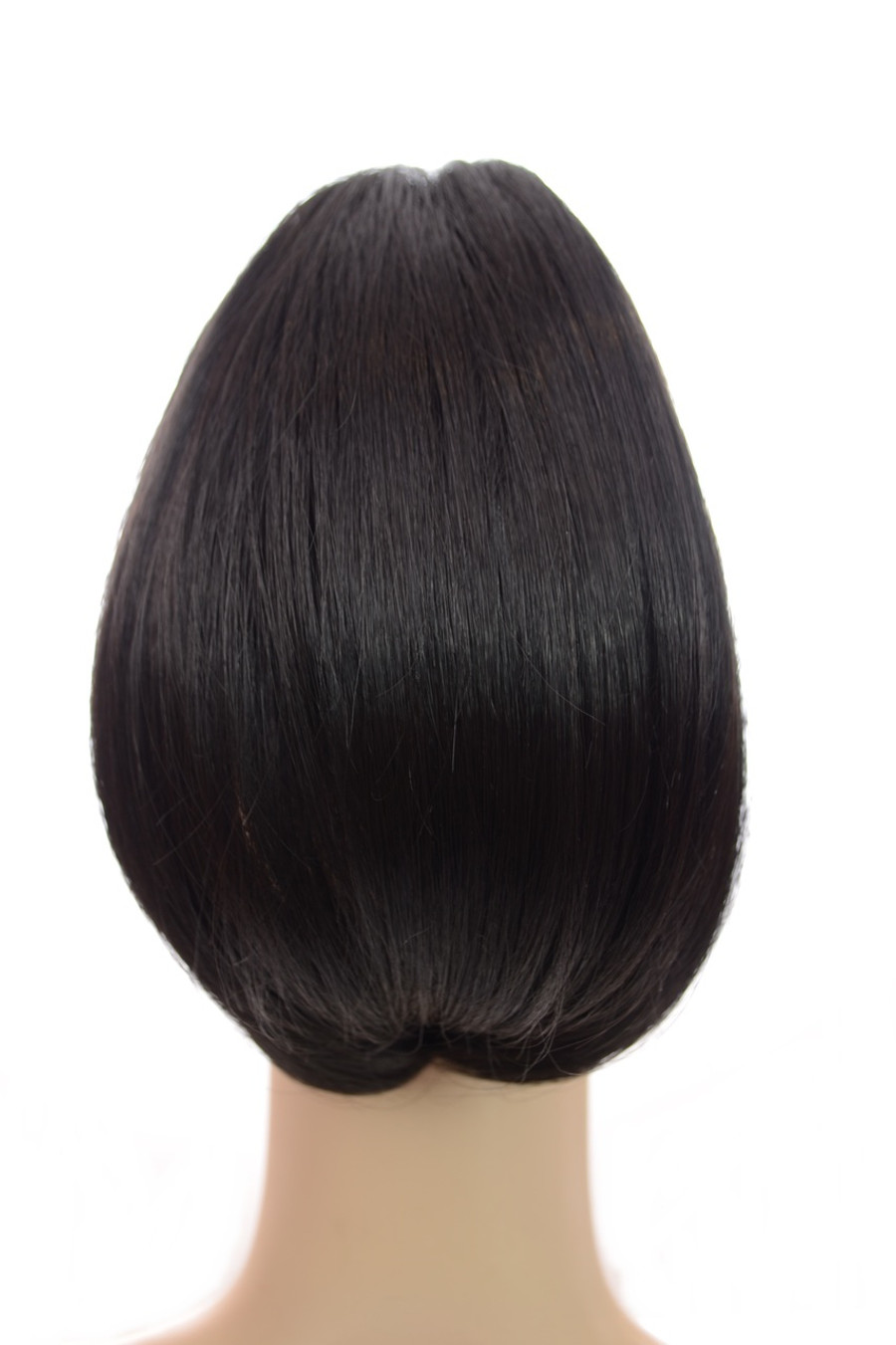 Bouffant Claw Clip In Ponytail Expresso Black