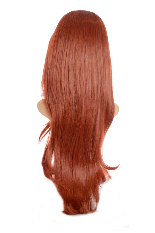 V Tress Weft Hair Extension Henna Red