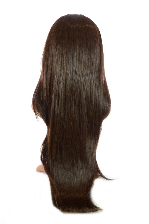 V Tress Weft Hair Extension Half Wig Dark Chocolate