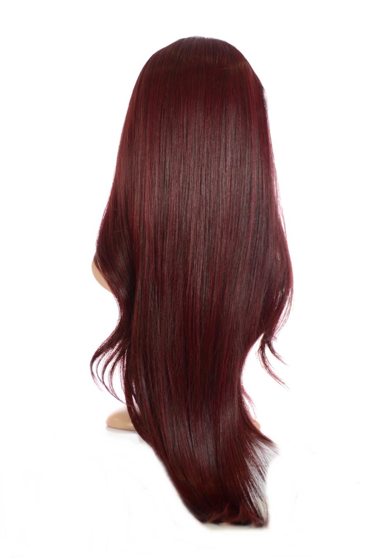 V Tress Weft Hair Extension Damson