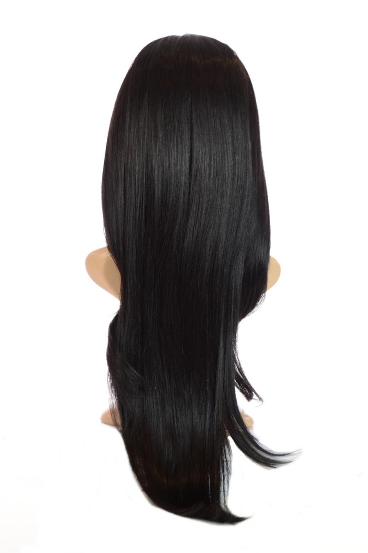 V Tress Weft Hair Extension Half Wig Inca Jet Black