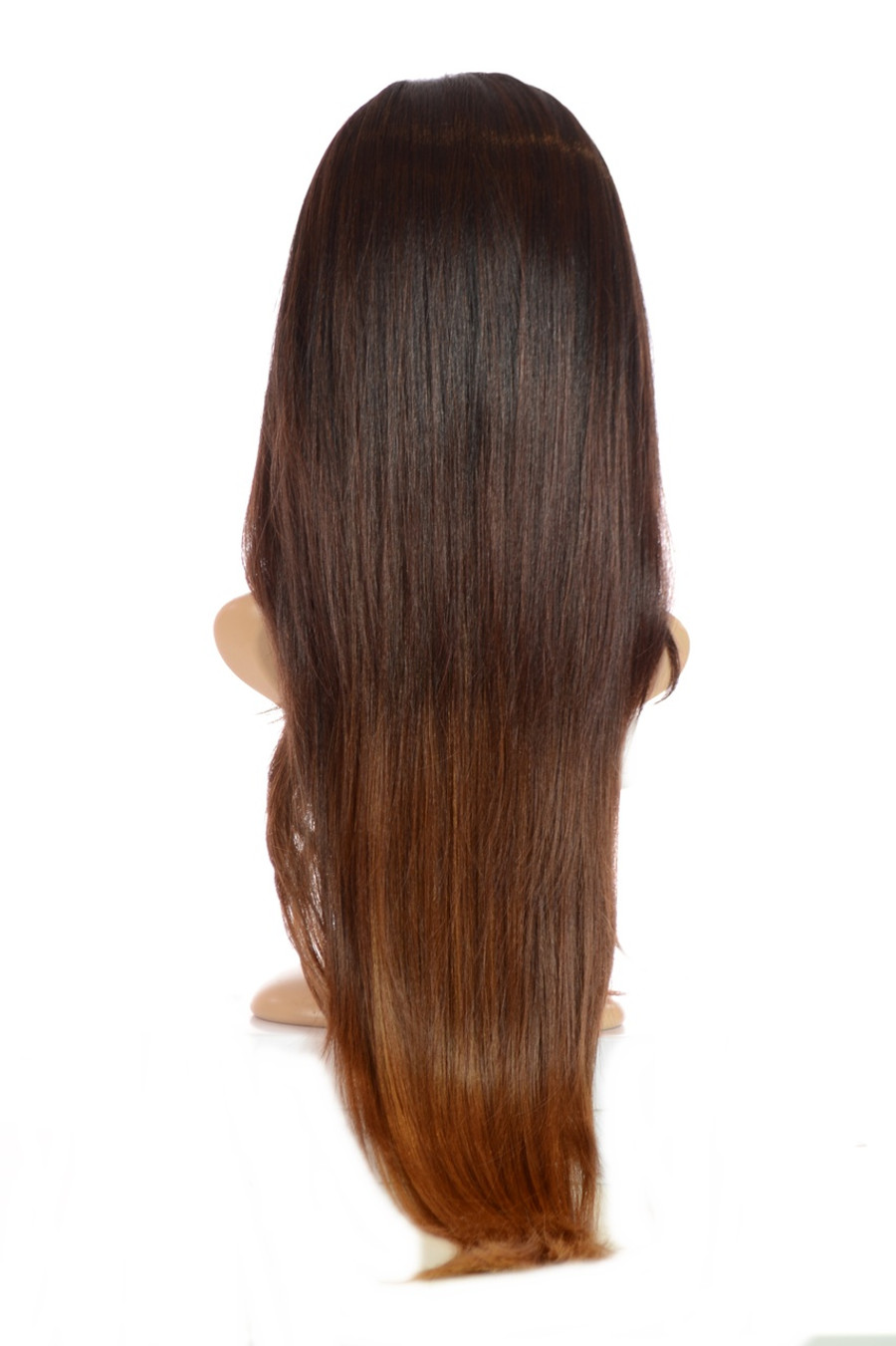 V Tress Weft Hair Extension Half Wig Toffee Chocolate