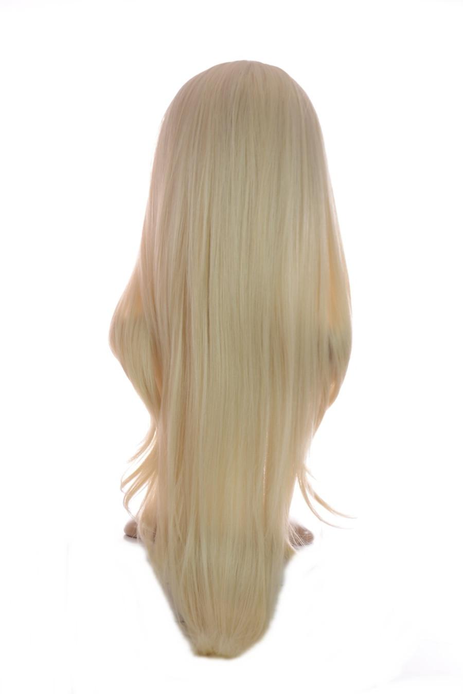 V Tress Weft Hair Extension Platinum Blonde
