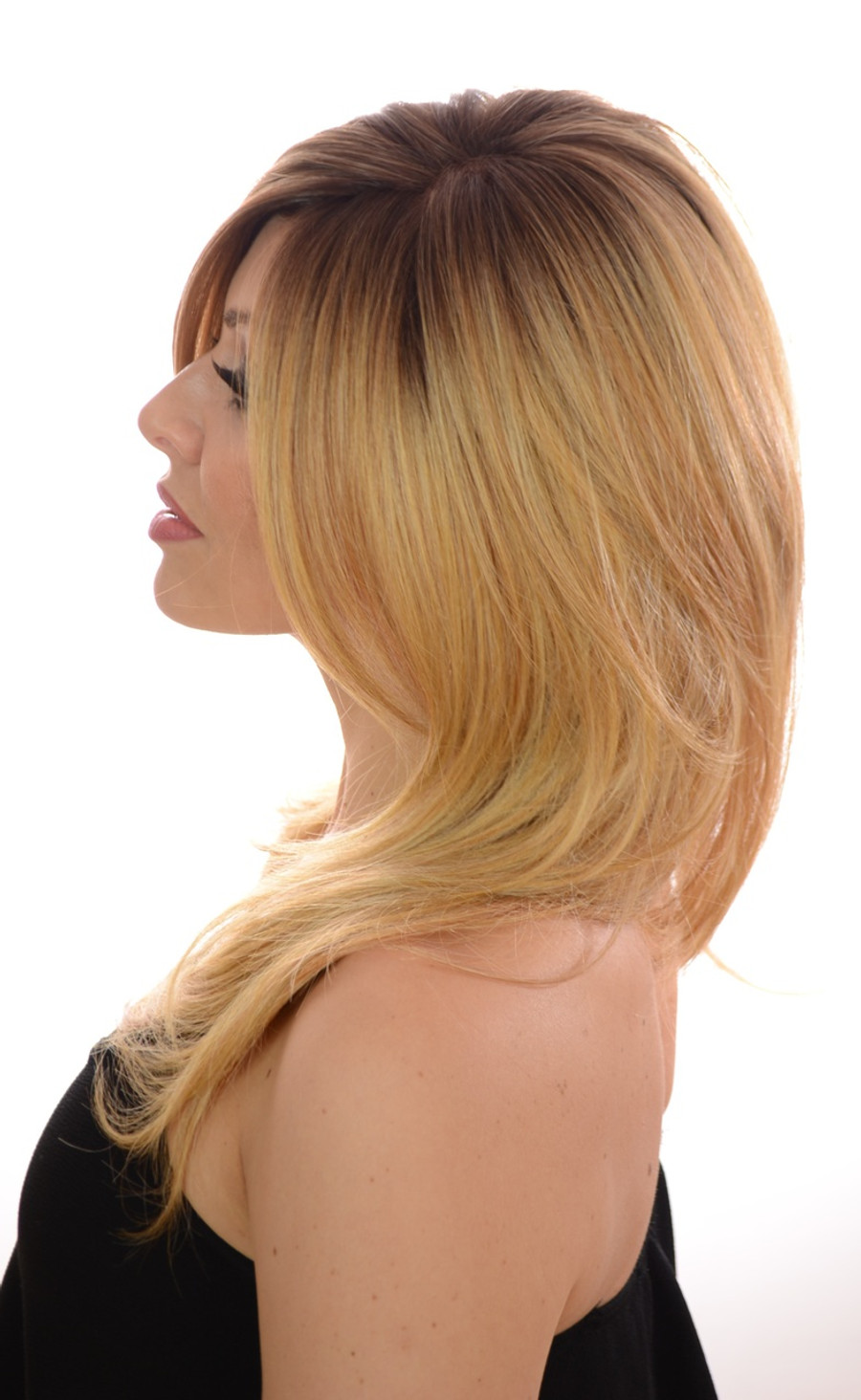 Esther Praline Creme Blonde Mono Wig